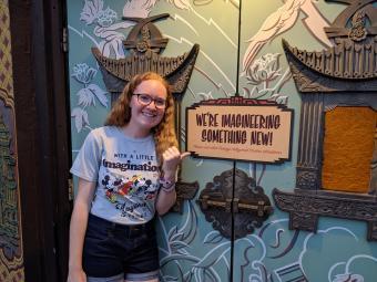Katie Varnadoe at Disney