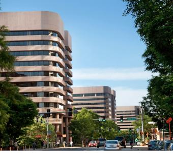 Crystal Parks District in Arlington, Virginia