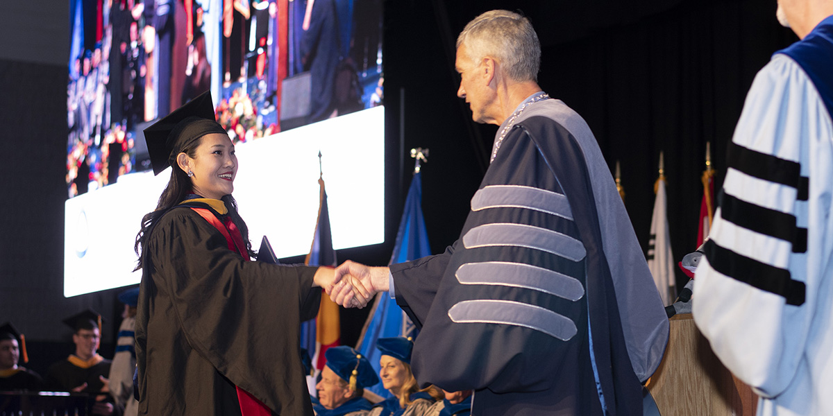 Spring 2018 Graduate Commencement at Colorado School of Mines