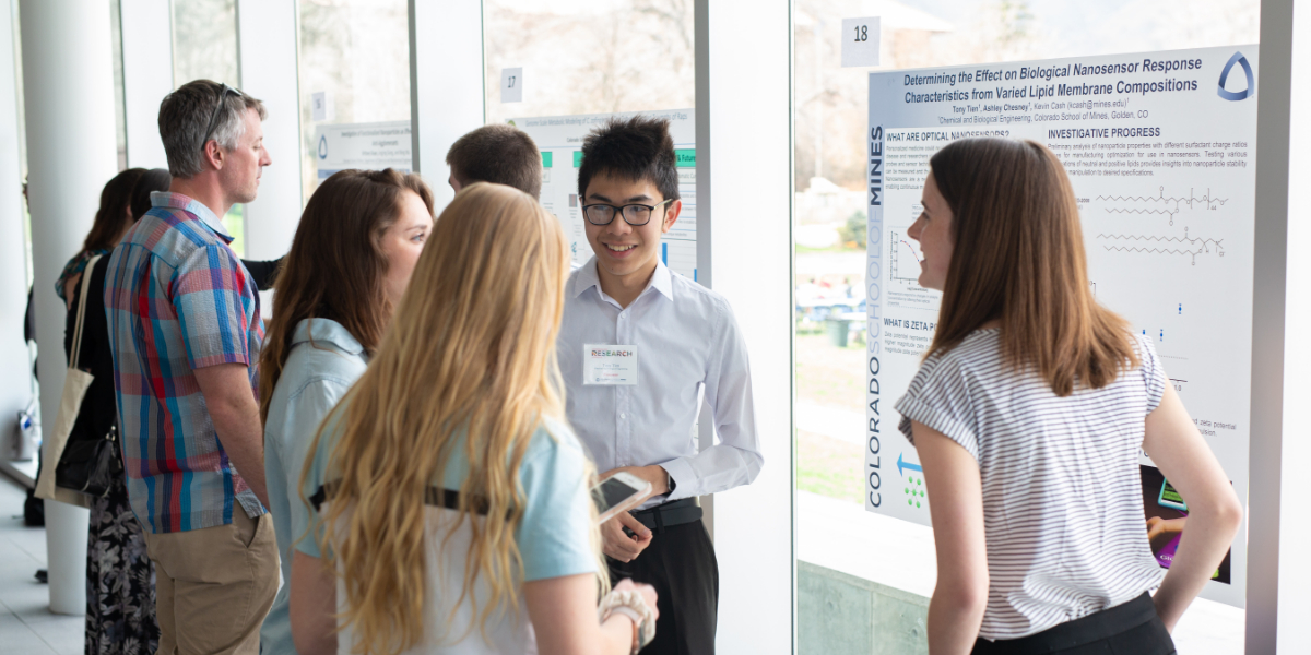Students present at Undergraduate Research Symposium