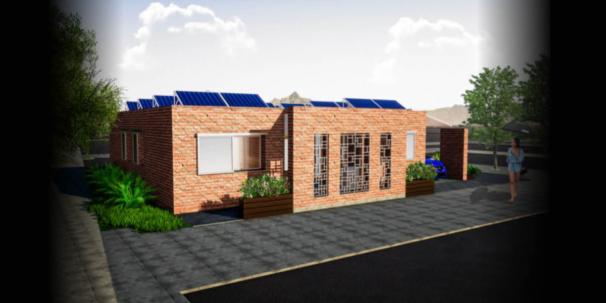 Interhouse rendering