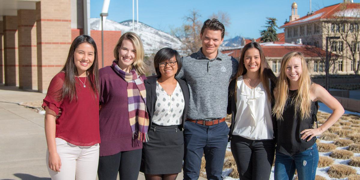 The 2016-2017 Shultz Scholars.