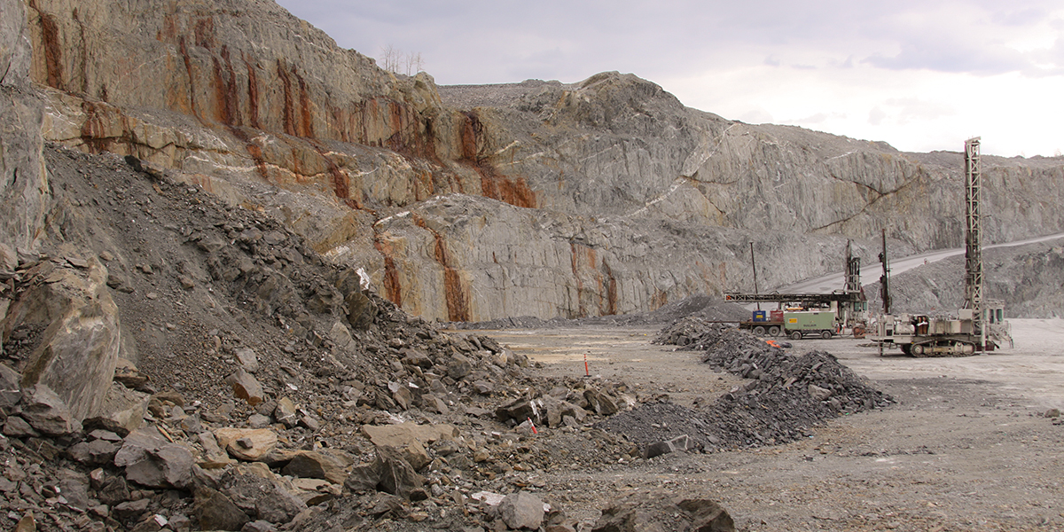 Pamour Open Pit mine