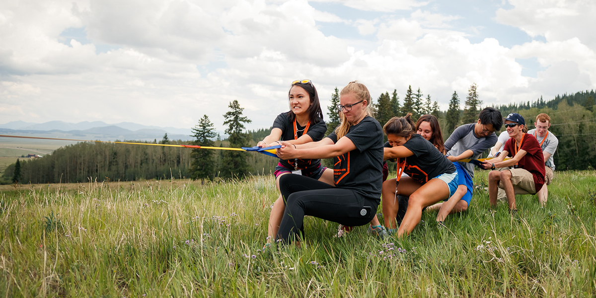 More than 200 incoming Mines students participated in the inaugural Oredigger Camp.