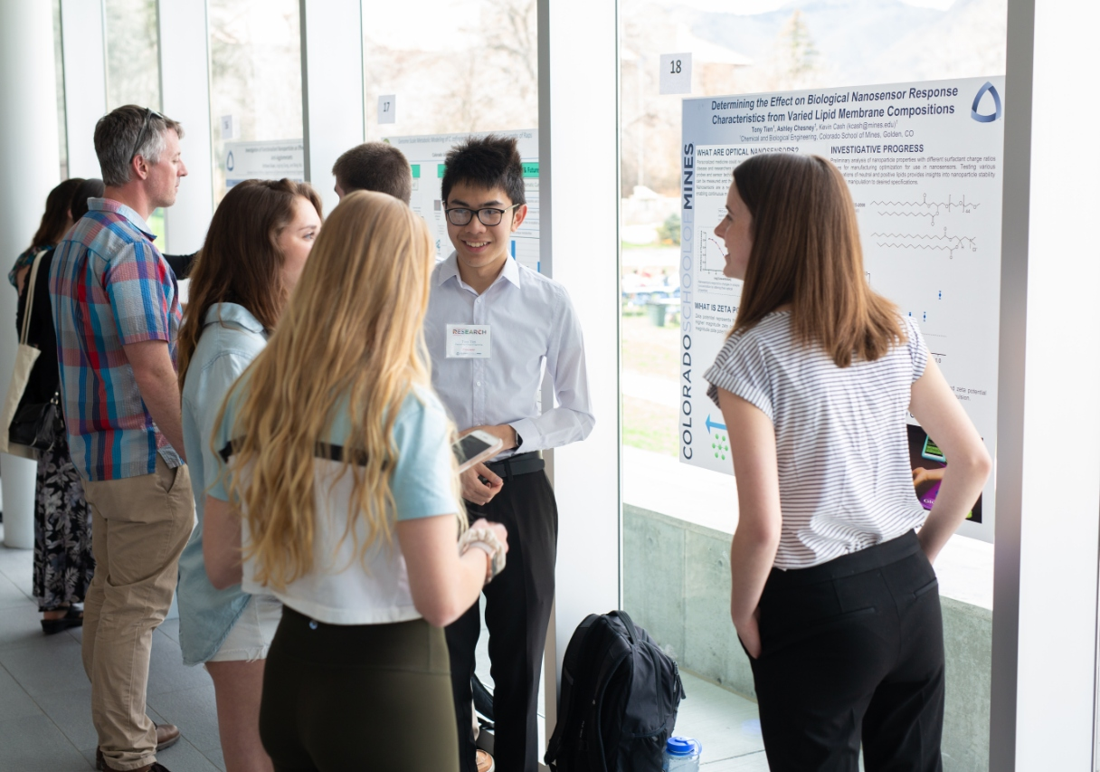 Students present research at Undergraduate Research Symposium