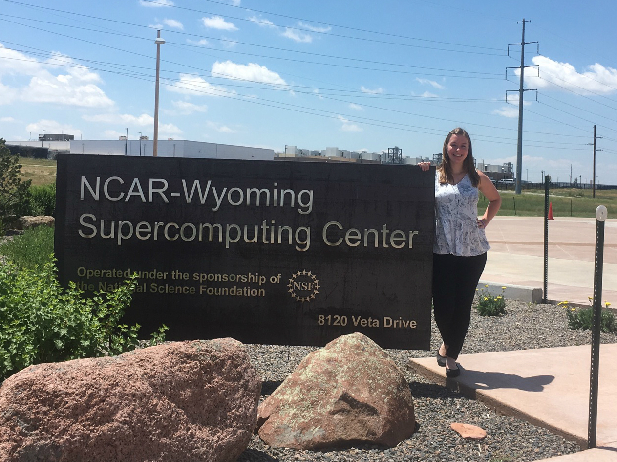 Alyssa Boll, an electrical engineering student at Colorado School of Mines, will observe the total solar eclipse with a research team from NCAR.