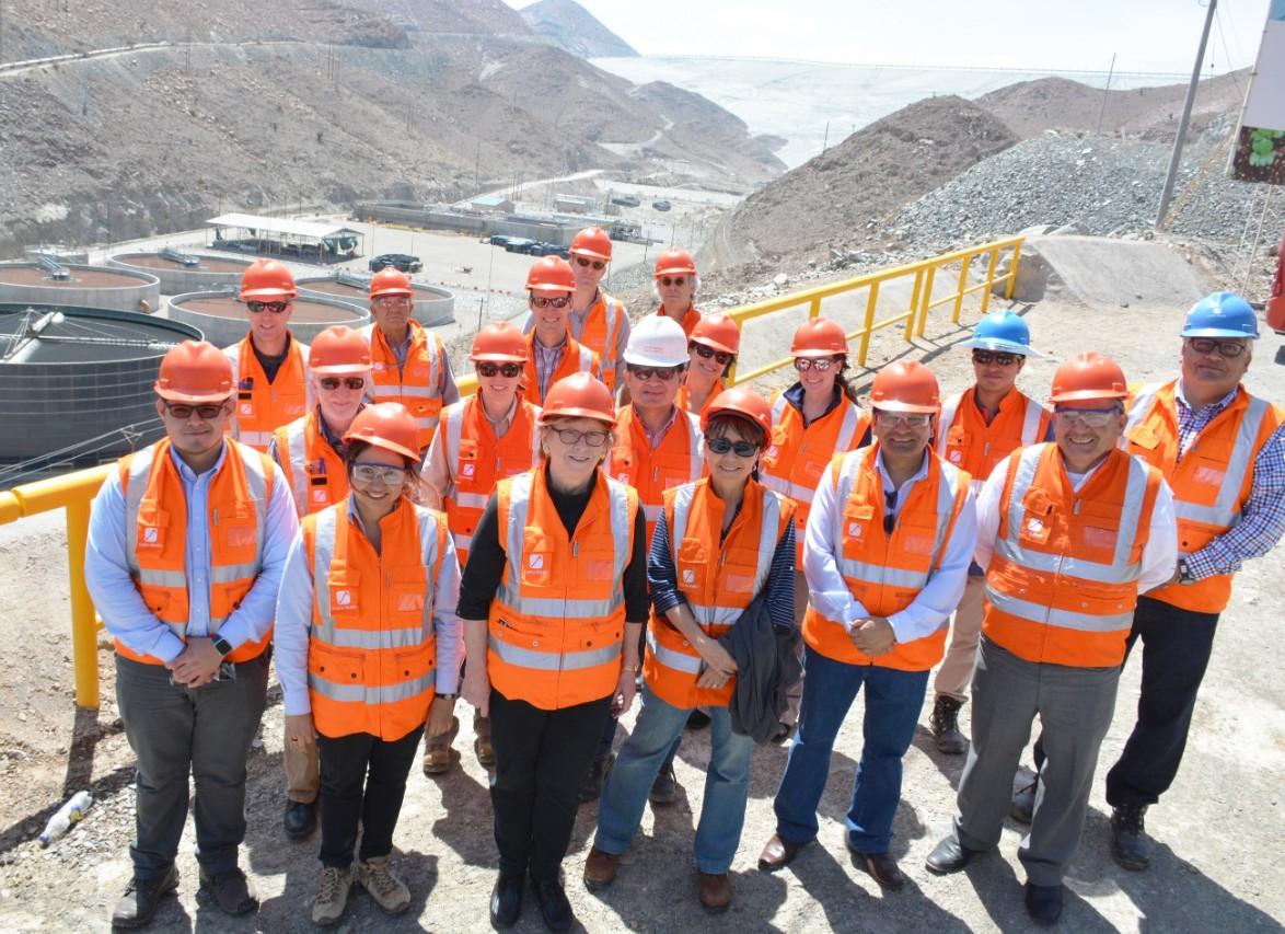 CSM team at Cerro Verde