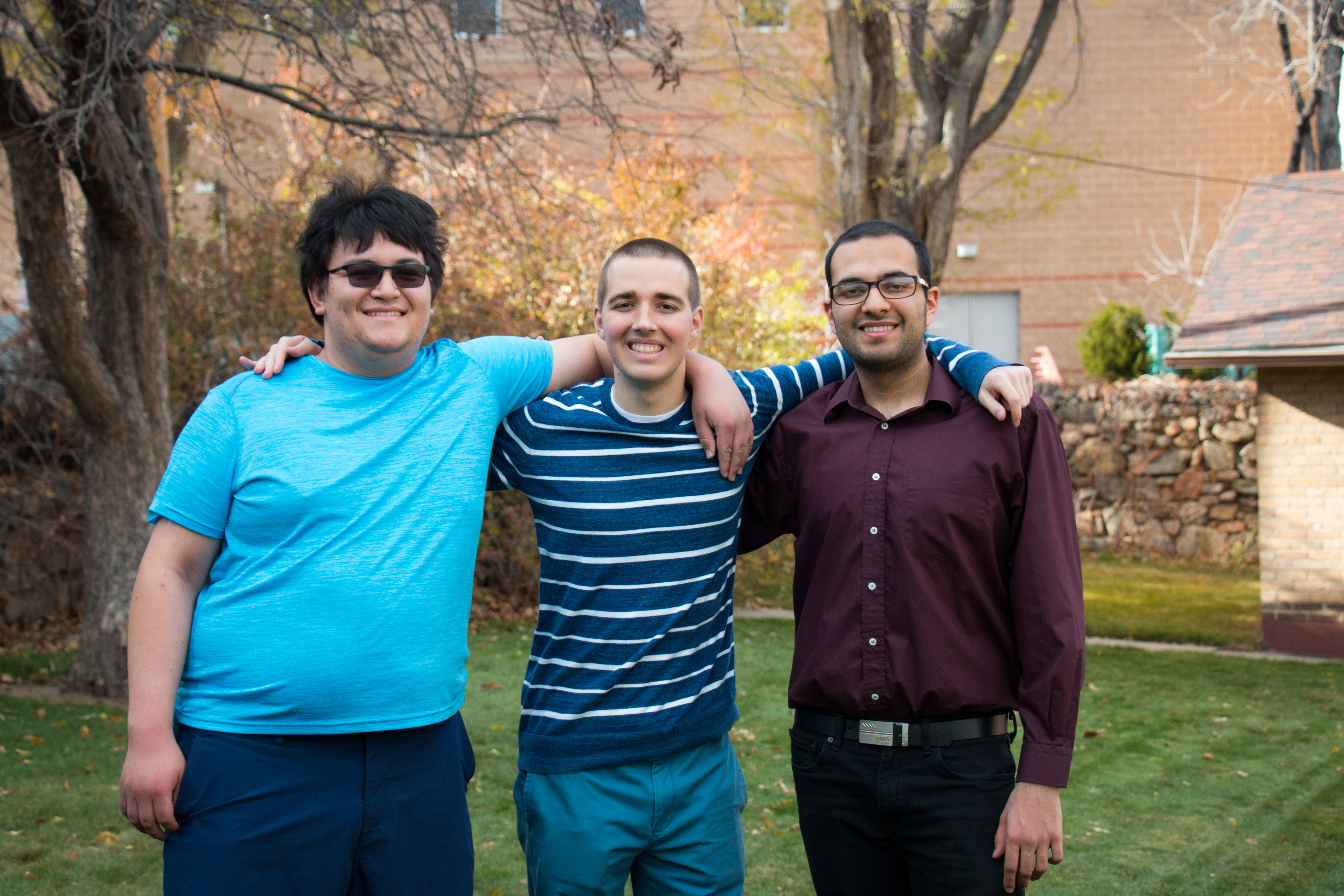 Sam Reinehr, Matt Baldin and Allee Zarrini of the SAMurai MAsters