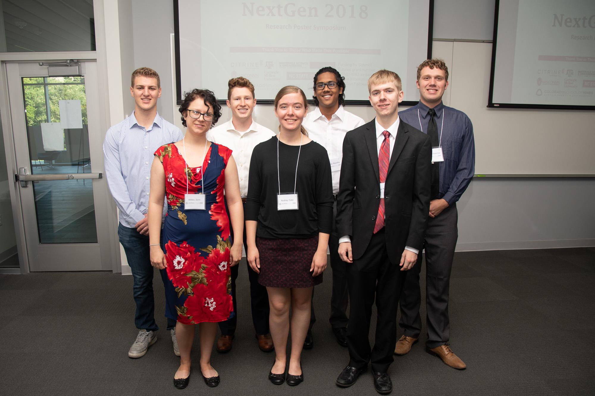 2018 Citrine NextGen fellows at Mines