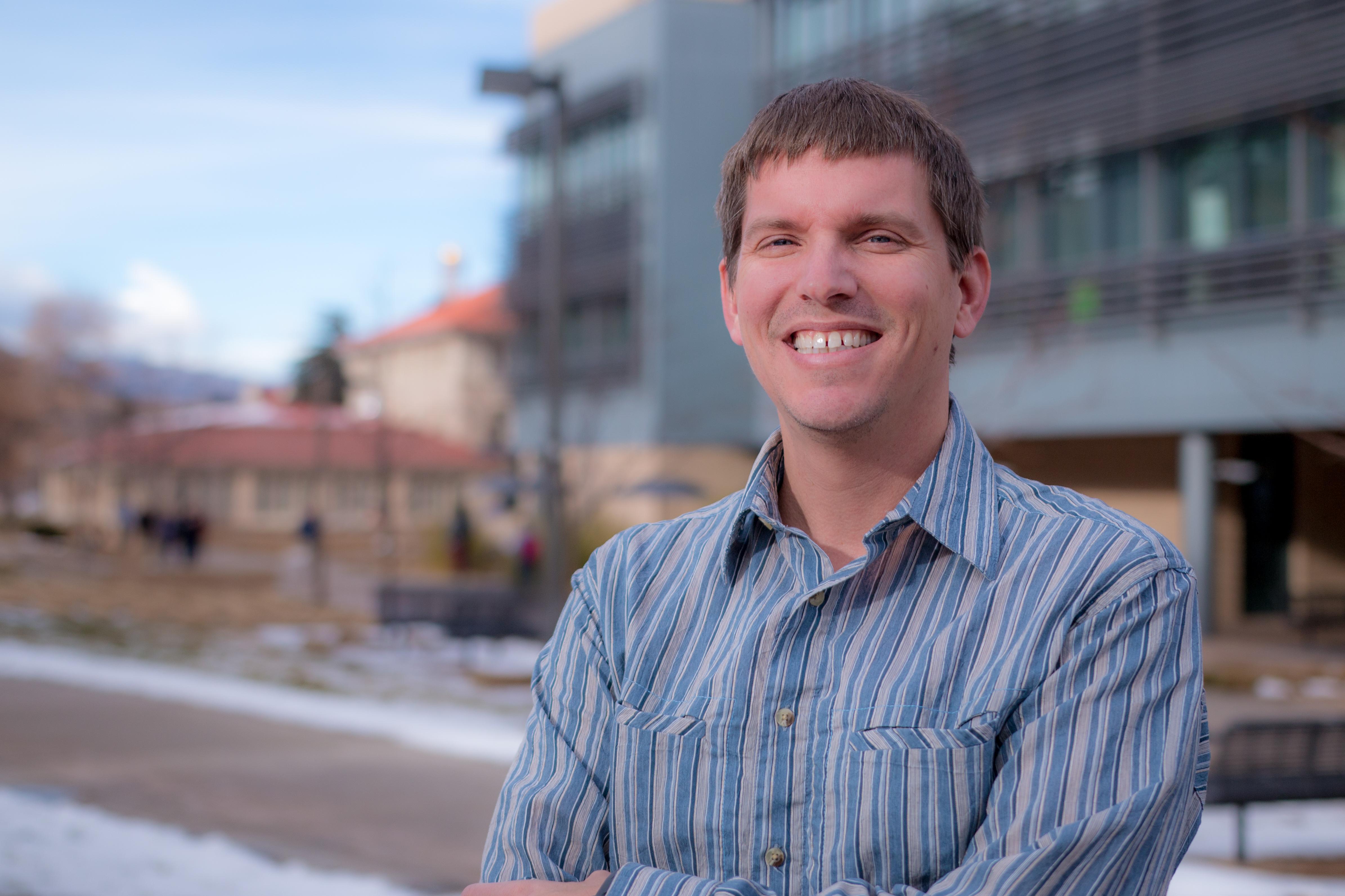 Mines Professor Brandon Dugan