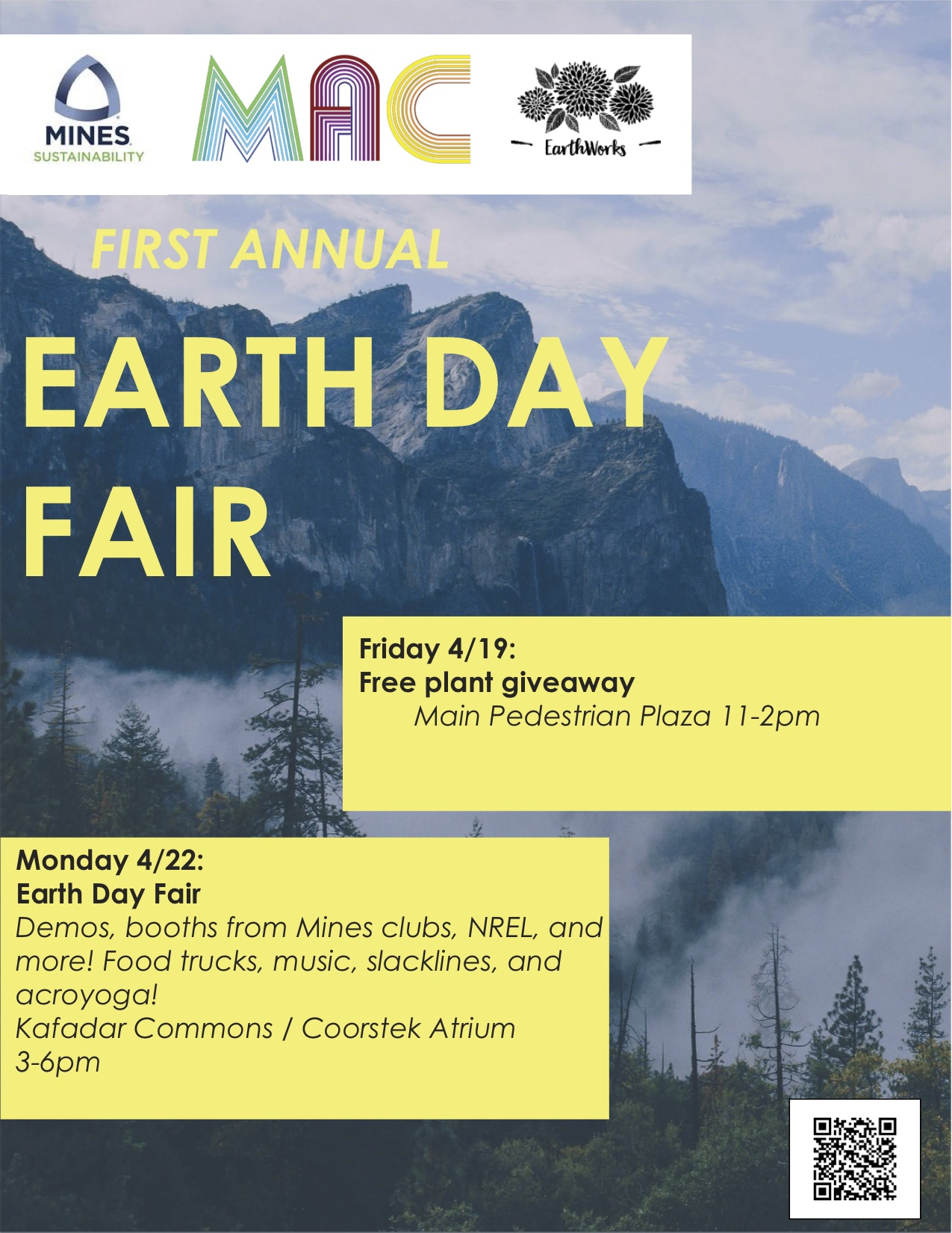 Earth Day Fair to showcase sustainability at Mines | Colorado School