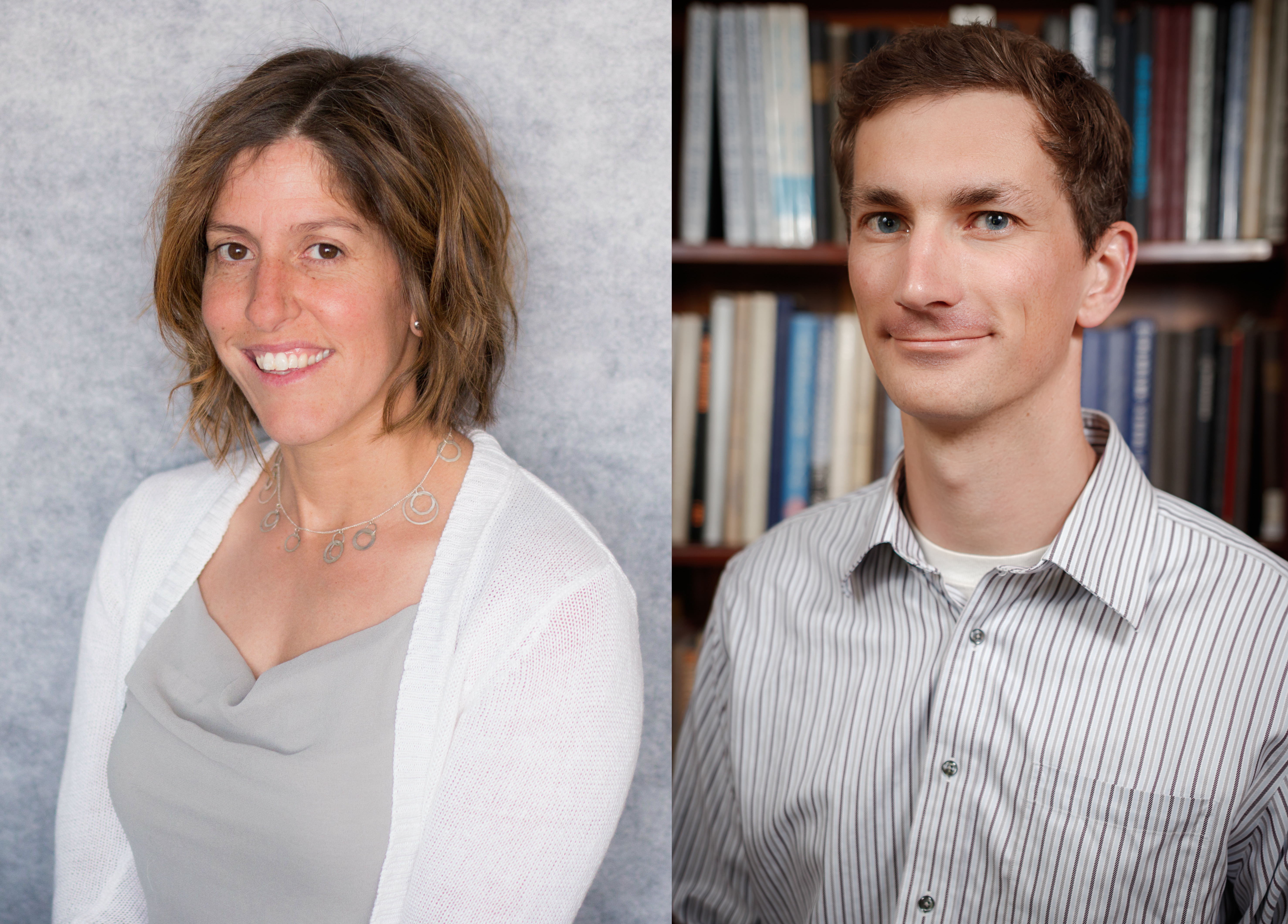 Colorado School of Mines professors Kamini Singha and Eric Toberer