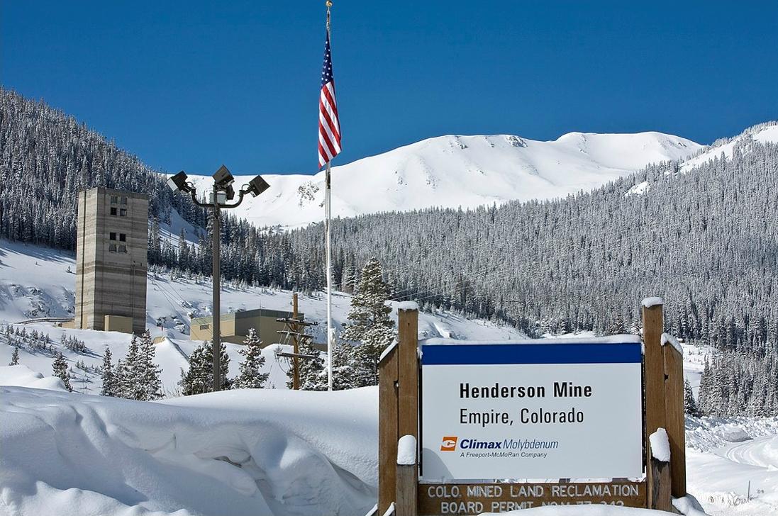 Henderson Mine near Empire, Colorado
