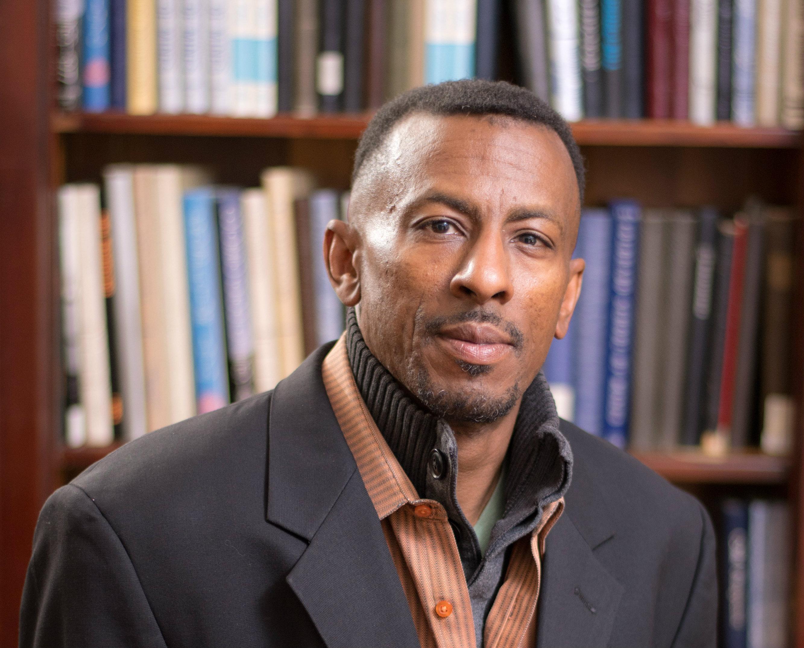 Mines Professor Derrick Hudson