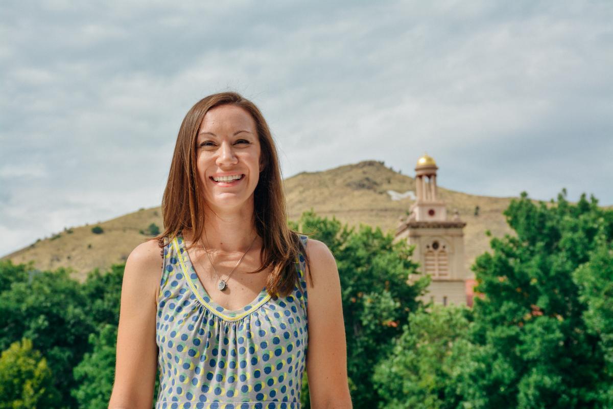 Colorado School of Mines professor Jessica Smith