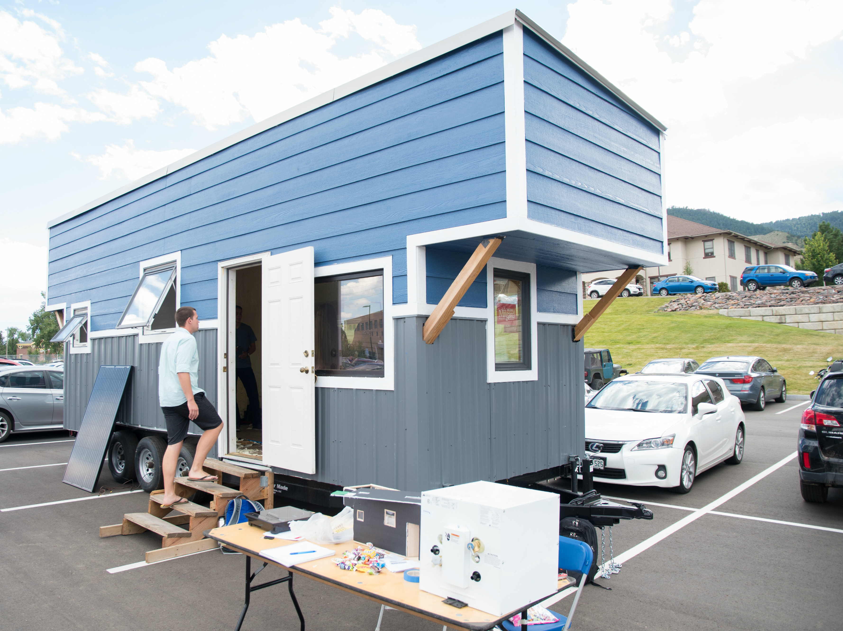 Mines Tiny House at the 2017 Celebration of Mines event