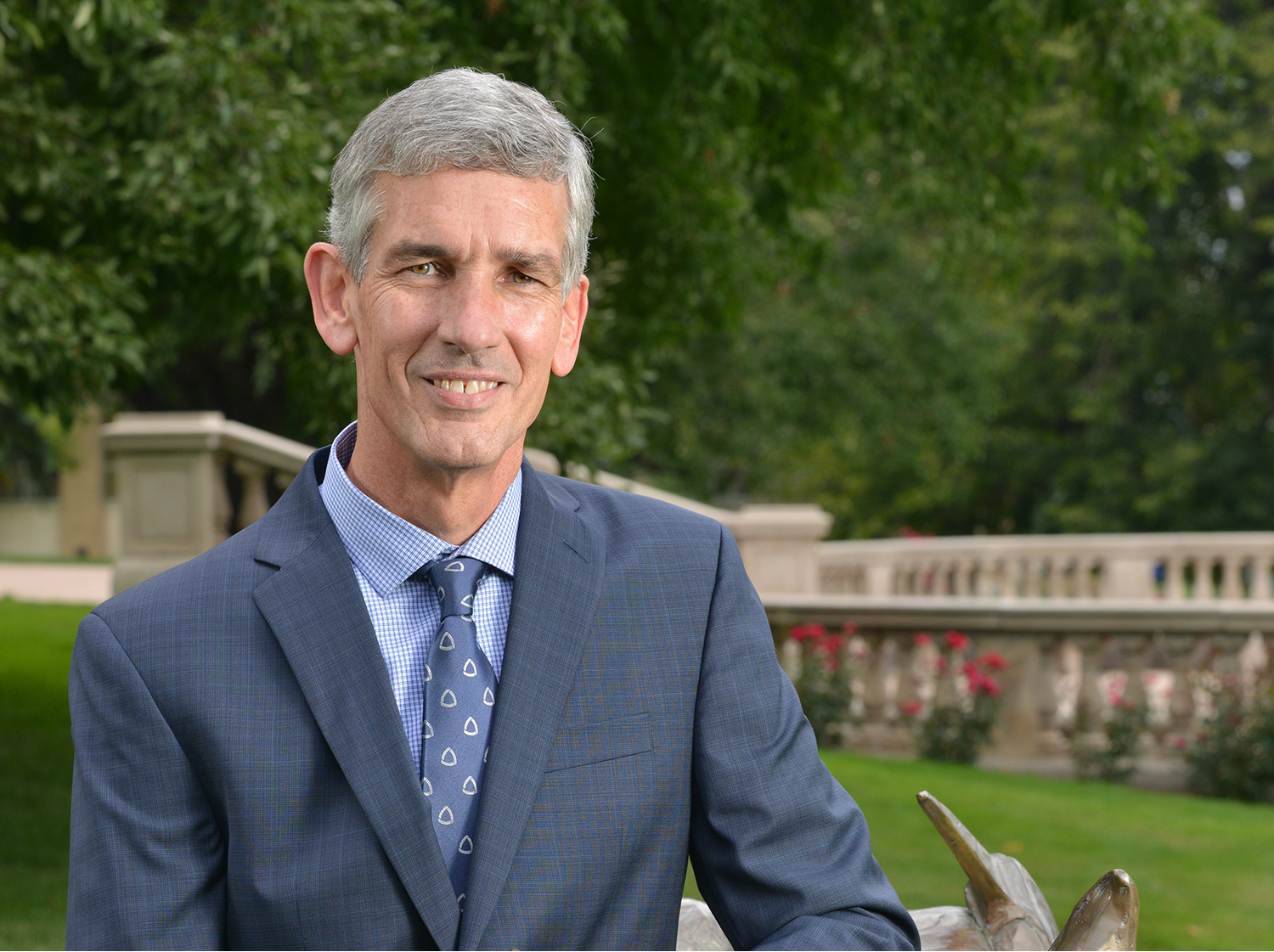 Colorado School of Mines President Paul C. Johnson