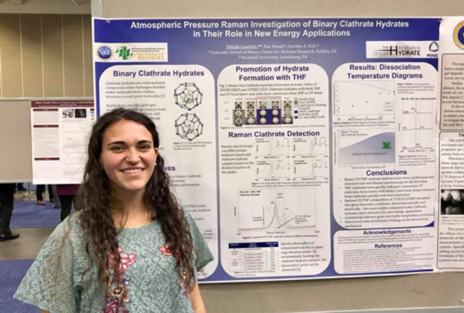Reu Program Alum Wins Aiche Award For Research Poster  Colorado