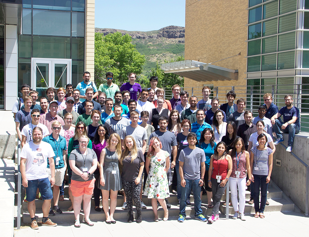 International Summer School on Thermoelectrics group photo