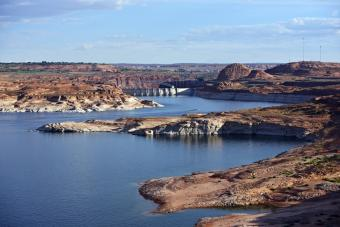 Stock photo of Glen Canyon Dam
