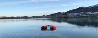 Autonomous Surface Vehicle in the water