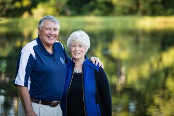 Rob and Ann McKee portrait