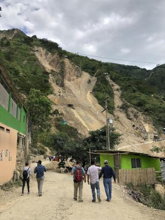 A team of Mines Humanitarian Engineering faculty and students conduct research on more sustainable artisanal and small-scale gold mining in Colombia.