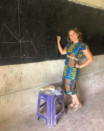 Dot Walch in Guinea