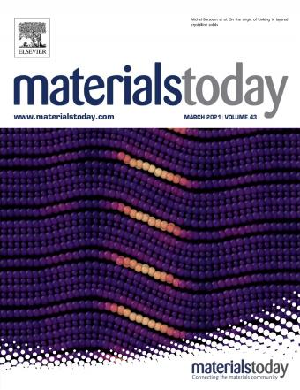 Cover of Materials Today