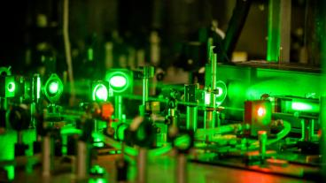 Lasers in the lab at Mines