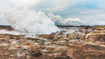 Stock photo of geothermal