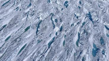Ice sheet in Greenland