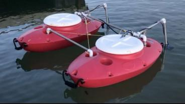 Screenshot of Autonomous Surface Vehicle