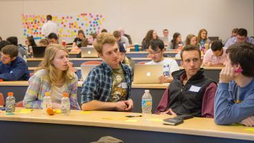 Students at the 2017 Newmont Innovation Challenge