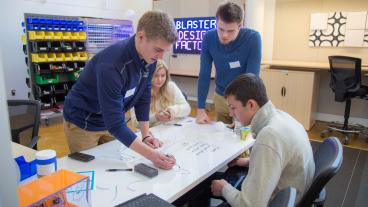 Mines students at the 2017 Newmont Innovation Challenge