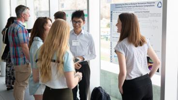 Students present at the 2019 Undergraduate Research Symposium