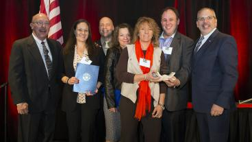ADAPT team wins Jeffco EDC Genesis Award.