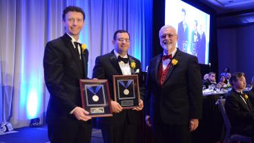 Kip Findley received ASM International's Silver Medal Award.