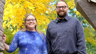 New MME faculty Amy Clarke and Kester Clarke