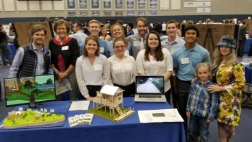 Bio Itza Eco Cottages at the Capstone Design Showcase