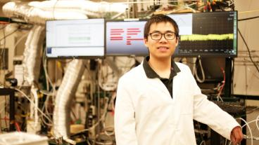 Postdoctoral researcher Chuancheng Duan PhD '18