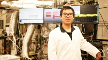 Chuancheng Duan, the paper's co-lead author, will graduate from Mines this week with a PhD in Material Science.