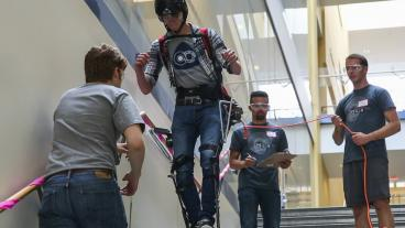Mines Robotics Club competes at the 2018 Applied Collegiate Exoskeleton Competition
