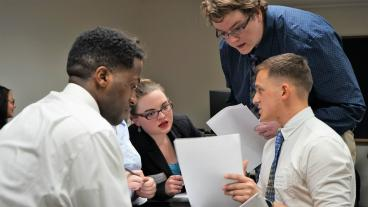Mines students compete in the Rocky Mountain Regional Ethics Bowl