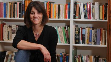 Tina Gianquitto was awarded the Fulbright Scholar award to teach in Italy.