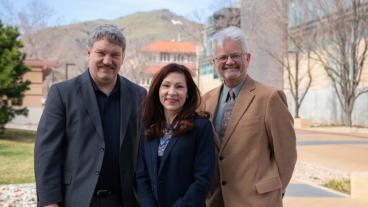 Will Fleckenstein, Linda Battalora and Bill Eustes