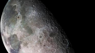 Moon - North Polar Mosaic, Credit: NASA/JPL/USGS