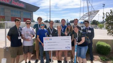 Mines Robot Pentathlon Team Wins E-Fest West