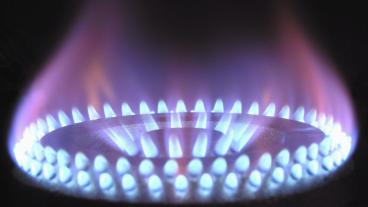 Stock photo of natural gas
