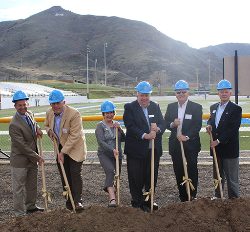 Mines Breaks Ground On Clear Creek Athletics Complex